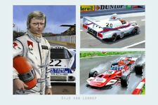 Print on canvas Collage Gijs van Lennep (NED) by Toon Nagtegaal