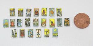 Dolls House Miniature Tarot Cards (DD240) Additional Items P&P FREE