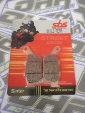 SBS Street Excel Sinter HH REAR Brake Pads for Honda CRF1000 L Africa Twin 16-17