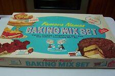 1950's/60's Children's Famous Names Baking Mix Set-Junior Chef; Aunt Jemima
