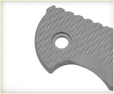 "Handle Scale for Rick Hinderer Knives XM-24 4"" - Battleship Gray G10"