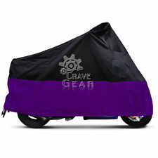 XXXL Purple Motorcycle Cover For Harley Street Glide Trike FLHXXX FLHX Touring