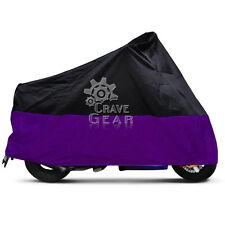 XXXL Purple Motorcycle Cover For Harley Street Glide Trike FLHXXX FLHX Touring