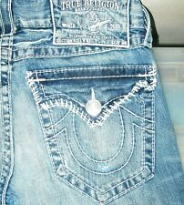 *HOT AUTHENTIC USA Men's TRUE RELIGION @ BILLY BIG T BOOTCUT Denim Jeans 30 x 32
