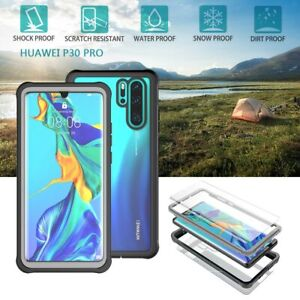 Waterproof Dust Shockproof Case Clear Full Body Cover for Huawei P30 / P30 Pro