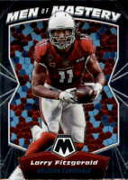 2020 Panini Mosaic Men of Mastery #6 LARRY FITZGERALD Cardinals