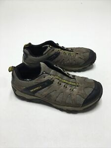 Merrell Outright Inferno Brown Boulder Old Gold Hiking Shoes Men's 8.5 J342288C