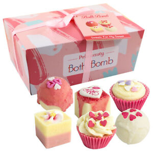 Mother's Bath Bomb Gift Set hand-made 100% natural vegan non-toxic ingredients