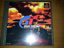 GRAN TURISMO SONY PLAYSTATION GAME B VIDEOGAMES PS JAP JAPANESE PSX PS1