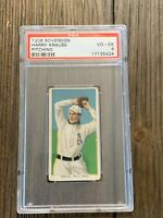 T206 Harry Krause Pitching PSA 4 Sovereign 350