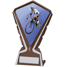 Phoenix Cycling Plastic Plaque Trophy, 160mm, FREE Engraving (AT4217K) cl