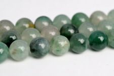 8MM Genuine Natural Green Calcedony Grade AAA Round Gemstone Loose Beads 15.5""
