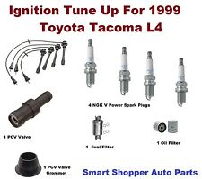 Ignition Tune Up for 1999 Toyota Tacoma Spark Plug, Wire Set, Oil Filter, PCV