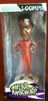 Charlie & The Chocolate Factory - Oompa Loompa Red Suit Head Knocker NEW NECA