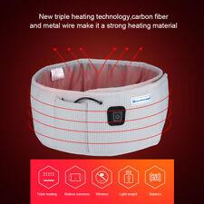 Thin Massage Belly Belt Vibrating Heating Infrared Fat Weight Loss Extender Belt