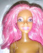 AA Pink Hair Barbie Doll