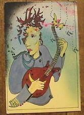 Carte postale Leo Tornero,guitariste, ,postcard