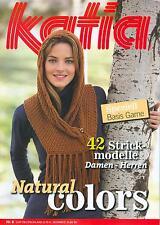 Katia Basics no 8 cuerda guía cuaderno soga revista 42 modelos señora-caballeros