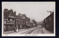 Cheshire NANTWICH Welsh Row early RP PPC