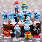 12pcs The Smurfs Smurfette Gargamel Action Figure Doll Play set Toy Cake topper