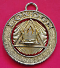 Past London Grand Chapter Rank collar jewel masonic Royal Arch RA 1936 hallmark
