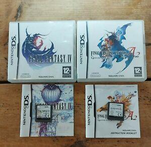 Final Fantasy Tactics A2 & Final Fantasy IV - Nintendo DS - Complete