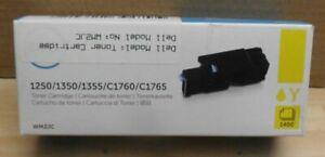 Dell WM2JC Toner yellow  für 1250 1350 1355 C1760 C1765  OVP A