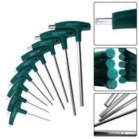 T Hex Set Allen Screwdriver Bit Metal Key Screw Steel Wrench Tool 1.5-8.0