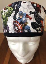 Marvel Avengers II - Men's Surgical Scrub Hat - Skull Cap