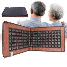 110V Portable Electric Natural Jade Tourmaline Heating Pad Massage Stones/Rocks
