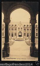 Belgie 100.-Passy Froyennes -La Cour d'Honneur, vue du Vestibule