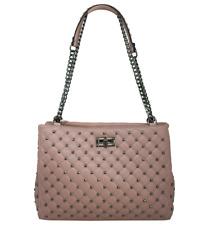 Diamond QuiltedLadies Designer Tote Shoulder Raised Code Handbag PU Leather Work