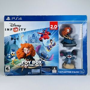 Disney Infinity 2.0 Edition Toy Box Starter Pack for PS4 with base Complete