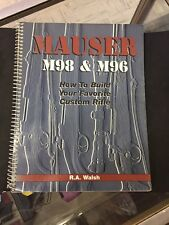 RARE!R.A. WALSH MAUSER M98 & M96. HOW TO BUILD YOUR FAVORITE CUSTOM RIFLE.