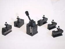Oxa Wedge Type Tool Post Set 250 000 For Mini Lathe Up To 8