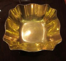 Tiffany & Co. Sterling Vintage Silver Bowl Gold Washed