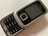 Nokia 6111 - Glossy Black (Unlocked) Mobile Phone