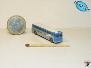 GMC PD 3751 Greyhound Bus 1947  Z scale 1/220 Hand-painted Metal Model