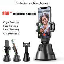 Smart Shooting Selfie Stick Objekt Gimbal 360 ° Video Auto Tracking Telefonhalte