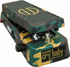 Dunlop DB-01 Cry Baby From Hell Dimebag Darrell Wah Guitar Effects Pedal