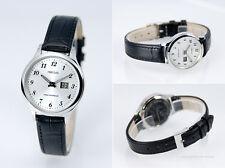 Damen Funk Armbanduhr Junghans-Uhrwerk Funkuhr Armbanduhr Leder Uhr 964.4707.79