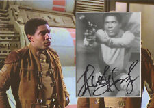 HERB JEFFERSON JR Signed 12x8 Photo Display BOOMER In BATTLESTAR GALACTICA COA