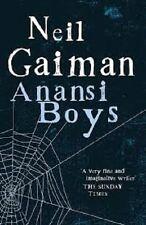 Neil Gaiman~ANANSI BOYS~UK 1ST(2ND)/DJ~NICE COPY