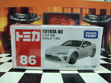 TOMICA #86 TOYOTA 86 1/60 SCALE NEW IN BOX