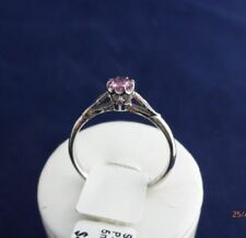 Pink Solitaire Sapphire Fine Rings