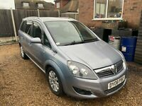 ZAFIRA B 08 7 SEATER SPARES AND REPAIR BREAKING