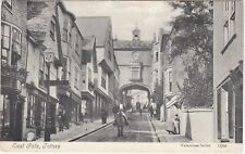 East Gate & Man On Horse, TOTNES, Devon