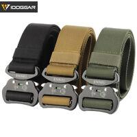 "IDOGEAR 1.5"" Tactical Belt Quick Release Riggers Belt EDC Military Airsoft Gear"