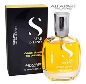 Alfaparf Semi di Lino Sublime Cristalli Liquidi Illuminating Serum 50 ml