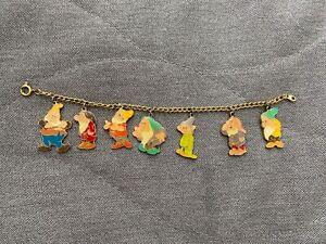 Disney / AAI Seven Dwarves Charm Bracelet